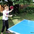 Tennis de table (Loann, Pannecé, août 2013)