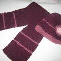 bonnet et écharpe VANINA taille 18 mois prix 15€