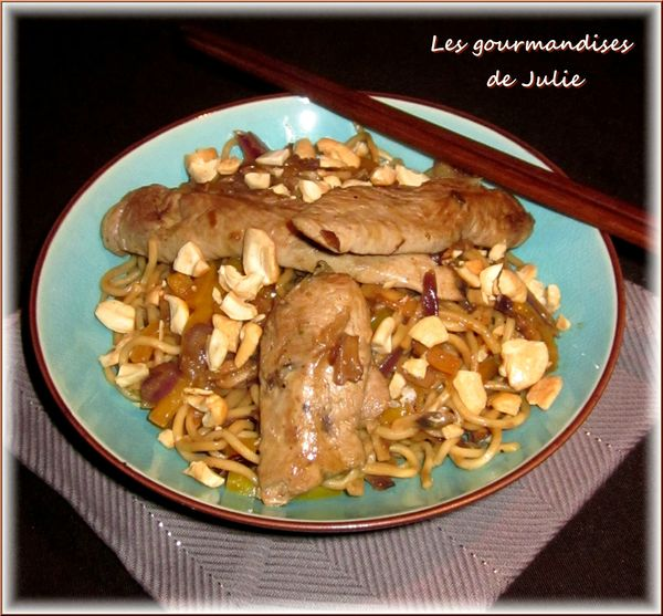 nouilles chinoises canard