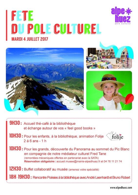 Flyer Fête Pôle Culturel