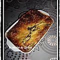 Lasagnes épinards chèvre