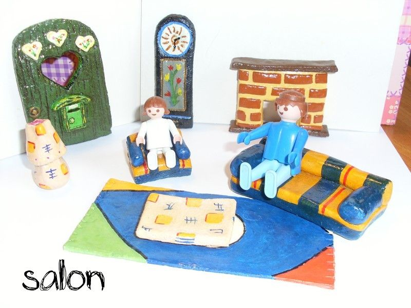 p te sel et playmobils lilizou. Black Bedroom Furniture Sets. Home Design Ideas
