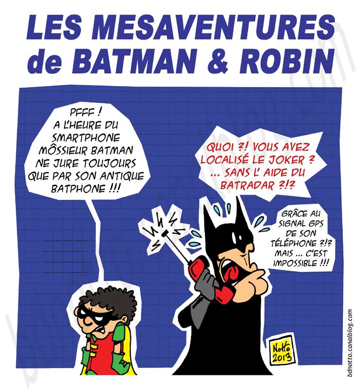 01 - 2014 - Batman et Batphone