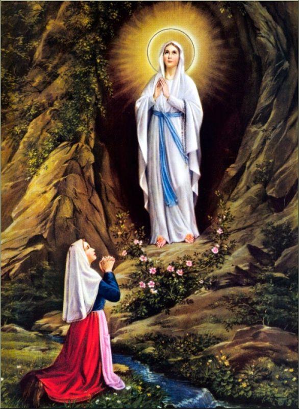 """Résultat de recherche d'images pour """"photo de Notre Dame de Lourdes"""""""