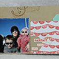 1 - Mini album scrapbooking katia nesiris démonstratrice Stampin'up