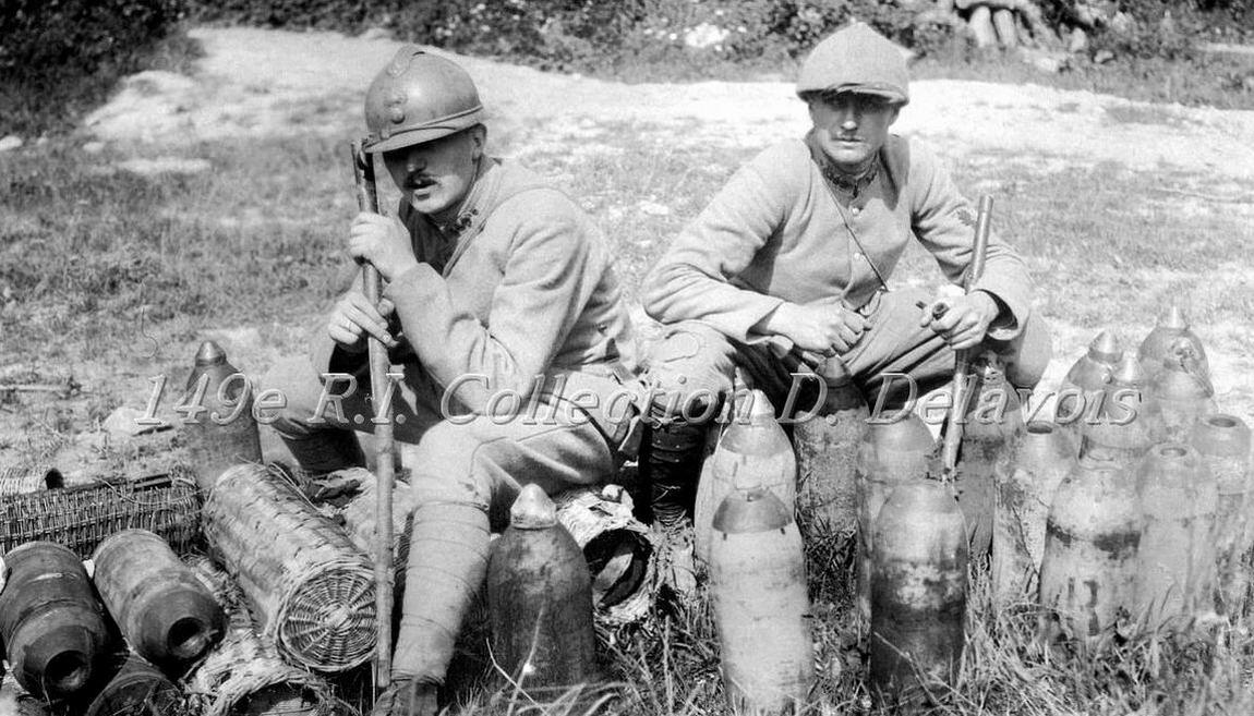 Carrière des obus (juin 1917)