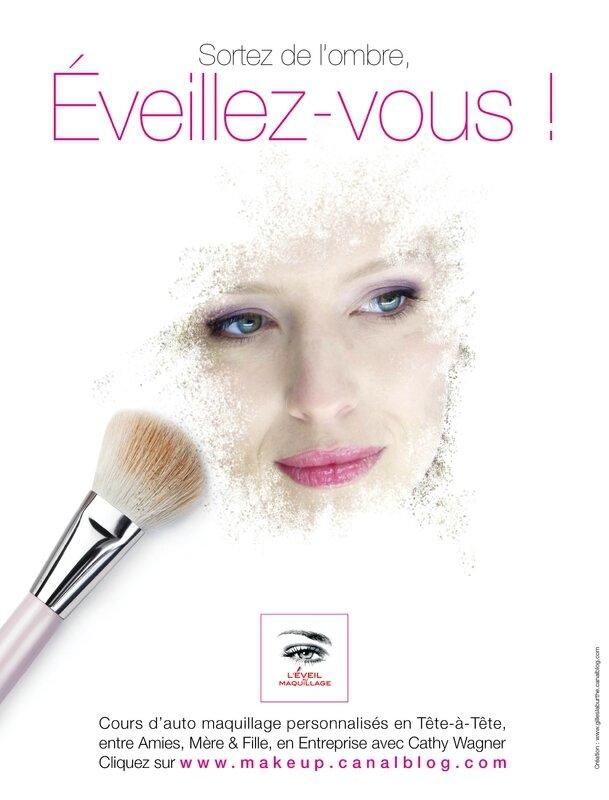 annonce ©Eveil au Maquillage 2014