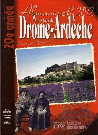 Almanach Drôme Ardèche 20120001