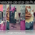 Anniversaire de Prunille {anniversaire de star } { pop star birthday party }
