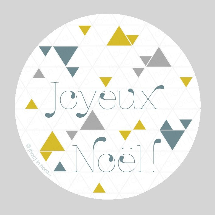 stickers triangolini-Noël copie