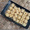 Défi cuisine : recette 1 - bonbons de mandarine à la coriandre.
