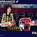 Air france fait la promotion de paris / air france promotes paris