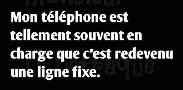 humour mon telephone