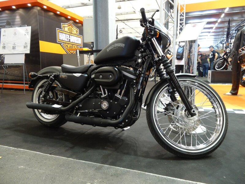 Harley Iron selle et roue de 72
