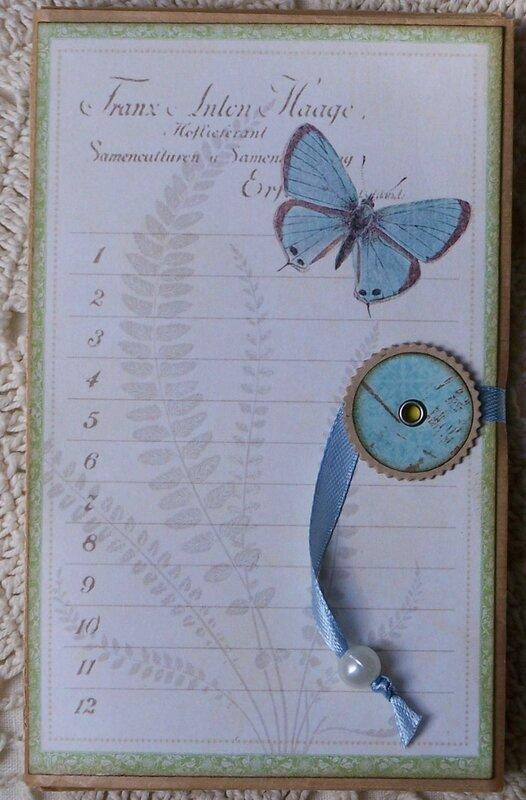 Papillon bleu couv
