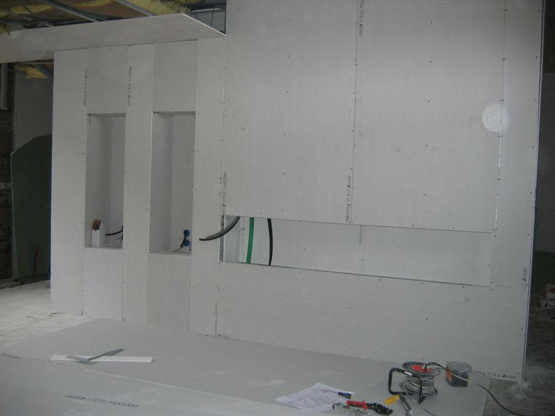 le mur du s jour ensemble. Black Bedroom Furniture Sets. Home Design Ideas