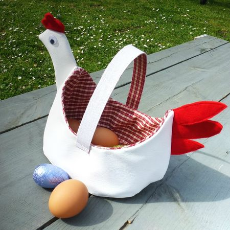 PANIER POULE 1