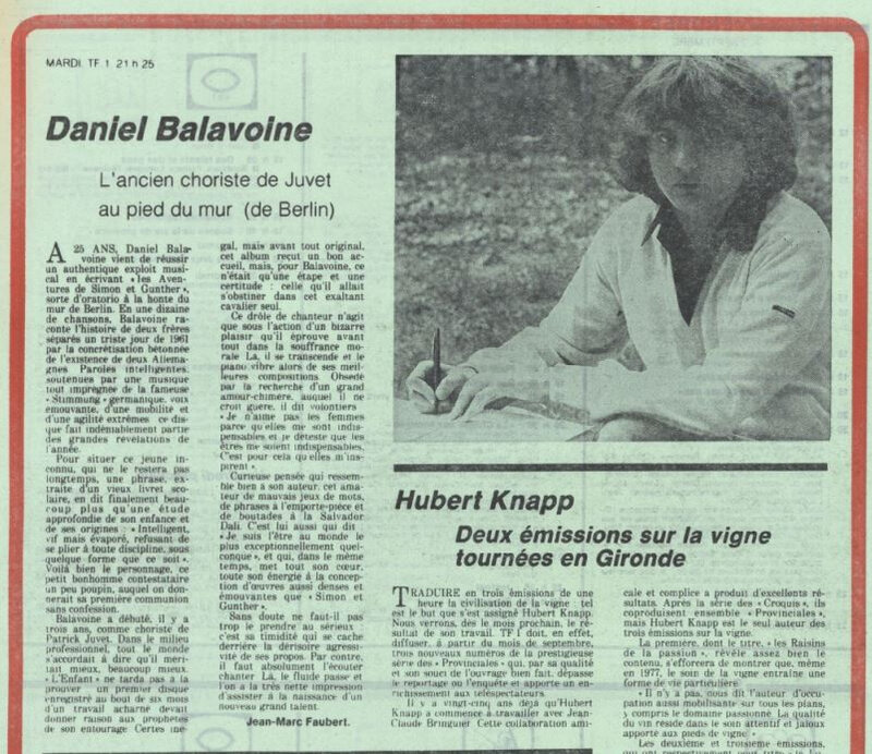 sud ouest 1977