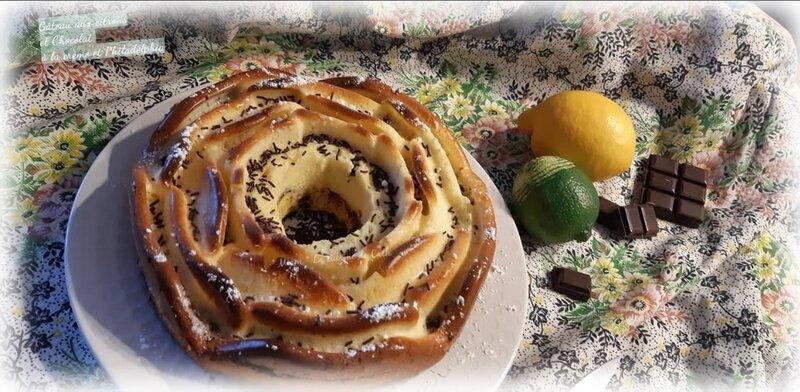gâteau citron-crème