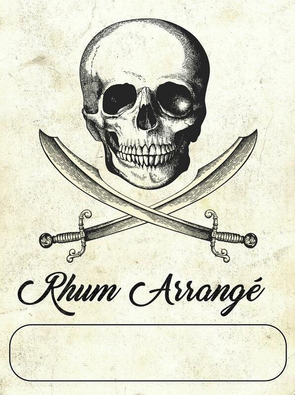 pirate rhum arrangé
