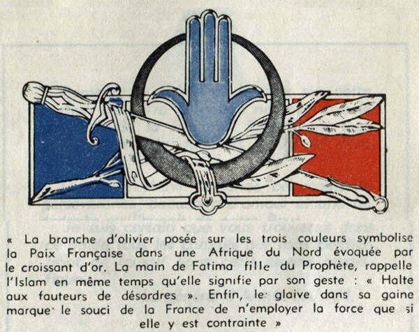 insigne forces armees afrique du nord