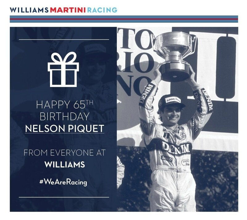 NELSON PIQUET BIRTH