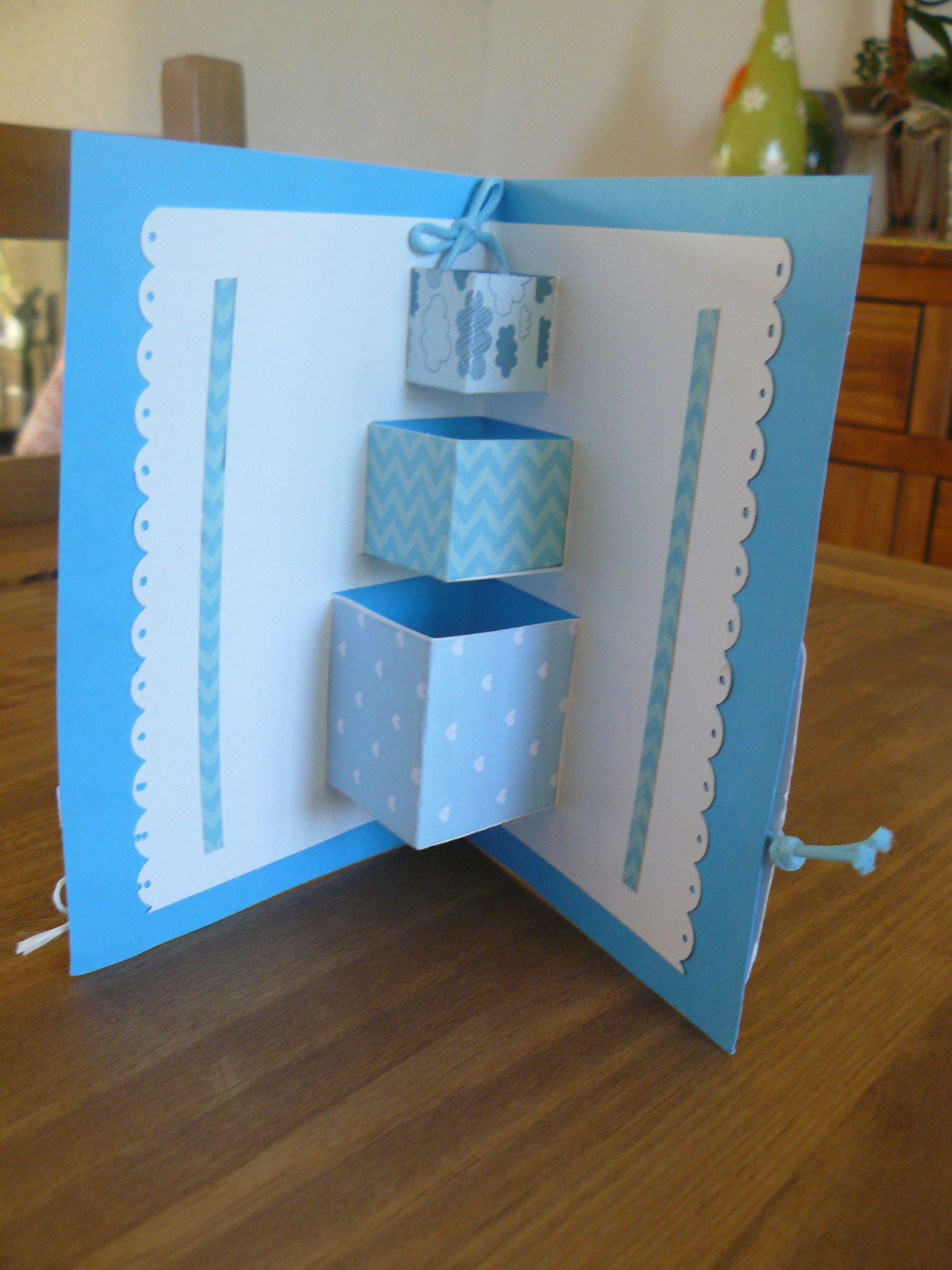 carte d 39 anniversaire de cl o pour son papa la boite bidules des tournesols. Black Bedroom Furniture Sets. Home Design Ideas