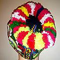 Bonnet pompons