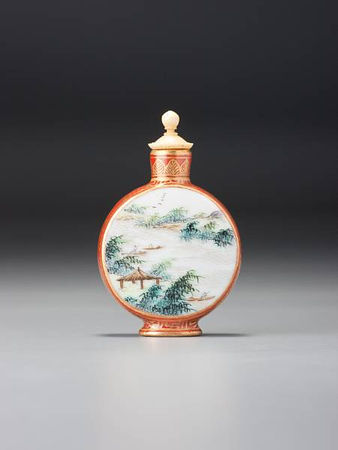 A__famille_rose__enamelled_porcelain_moonflask__landscape__snuff_bottle1