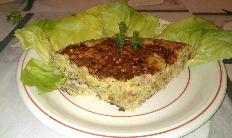 Tortilla aux lardons au four à microondes (1)