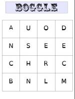 grille boggle