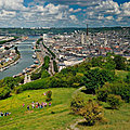 Les prix de l'immobilier grimpent à rouen en raison de l'affirmation de l'exode urbain parisien...