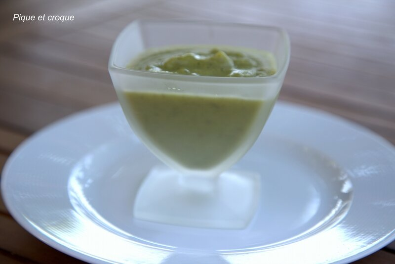 soupe froide courgette fenouil 2