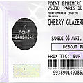 Cherry glazerr - samedi 6 avril 2019 - point ephémère (paris)