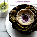L'artichaut vinaigrette : le préparer et le présenter