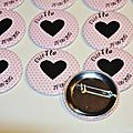Kit badges evjf