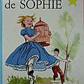 Livre collection ... les malheurs de sophie (1967) * etoile d'or *