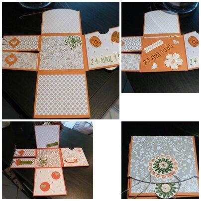 mini album orange