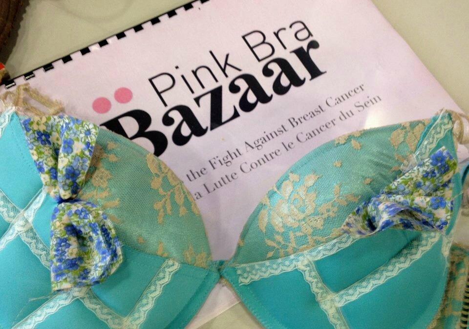 Atelier Pink bra Bazaar au Salon Pour l amour du fil 2014 - Une ... 31d08b73a2c