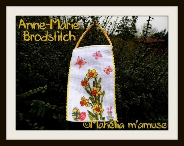 les jonquilles du printemps_anne marie brodstitch