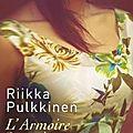 L'armoire des robes oubliées, par riikka pulkkinen