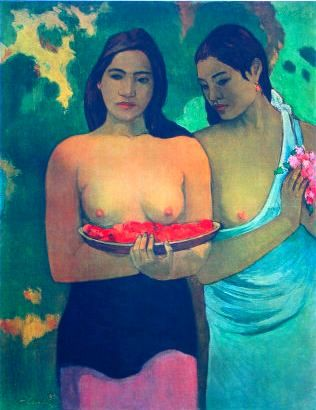 paul_gauguin_women_with_mangoes