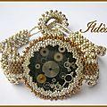Cabochon de Jade style steampunk
