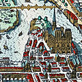 Paris 1620 vu par merian