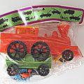 00291 sachet locomotive & wagon marque feral