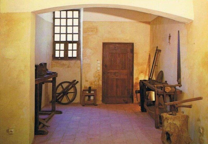 cellule du père charteux atelier