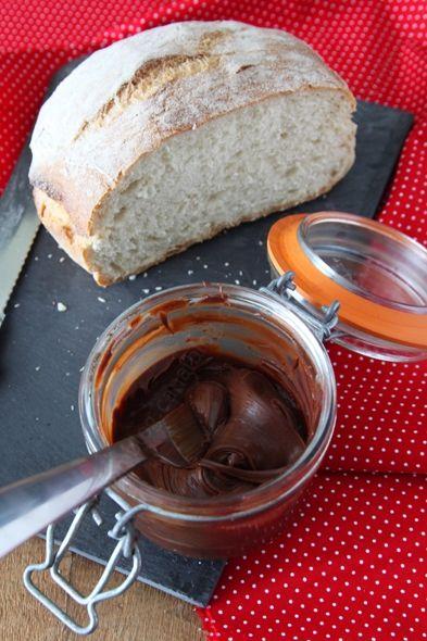 pate a tartiner chocolat caramel 002 LE MIAM MIAM BLOG