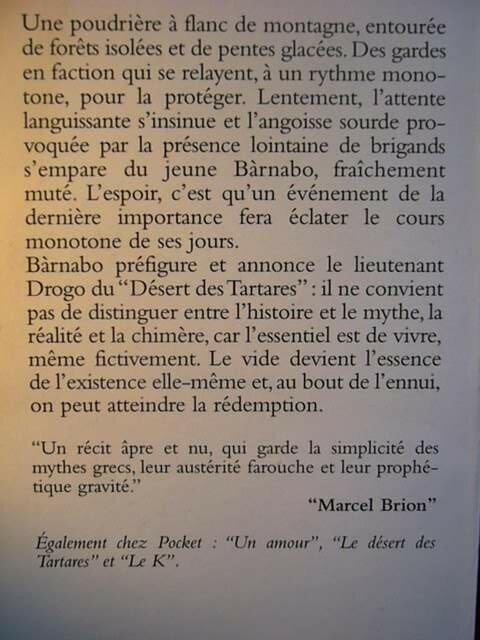 Dino Buzzati Le Magicien Le Fleuve Litterature