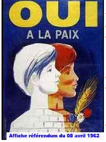 affiche referendum 8 avril 1962