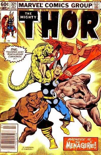 mighty thor 1966 321